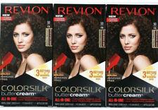 3 Revlon 50 41N Medium Natural Brown Vivid Hair Color Colorsilk Buttercream