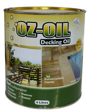 OZ-OIL Timber Decking Oil CLEAR  4 litres OZOIL OZ OIL