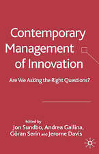 Contemporary Management of Innovation: Are We Looking at the Right-ExLibrary