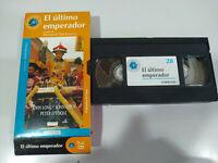 EL ULTIMO EMPERADOR BERNARDO BERTOLUCCI - Pelicula VHS Castellano