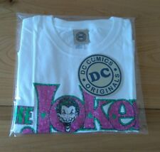 The Joker T-Shirt Women's Size Medium Unworn With DC Comics Tag