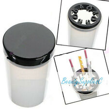 Cleansing Sterilizing Jar for Brush Nail Art, Tools, Plaint Brush