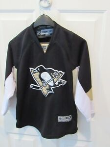 Pittsburgh Penguins size boy's large / XL CCM Reebok Hockey Jersey NHL sewn