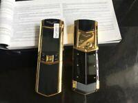 Unlocked Luxury Flip Phone K9+ Signature Style Ceramics Good Quality Dual Sim