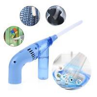Portable Mini Handheld Vacuum Cleaner Home Desk Duster Clean Brush Dirt Remover