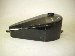 CUSTOM MOTORCYCLE CHOPPER AFTERMARKET Gas Fuel Tank BLACK USED 42721-32