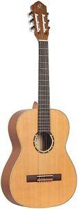 Konzertgitarre Ortega Guitars R122 7/8 Zedern Mahagoniholz Natur unvollständig