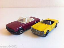 Matchbox / Lesney - 6 & 27 - Mercedes 350 SL + 230 SL (1/64)