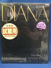 Diana Ross Visions Of EP Japan VHD Video Disc VHM39030 Promo Sample Missing You