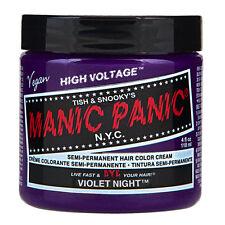 Manic Panic Classic Hair Dye Color Violet Night 118ml Manic-Panic