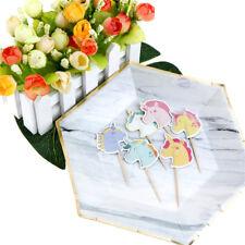24X unicorno cavallo cupcake cake topper cake flag per la decorazione di!cottura