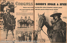 Cowgirls, Rodeo's Sugar And Spice+Adams,Baker,Baldwin,Belcher,Billingham