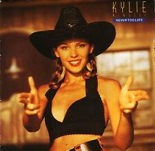 "Kylie Minogue nunca es demasiado tarde/Kylie's Smiley mezcla PWL 45 Reino Unido PWL 7"" PS EX/EX"