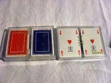 """Doppio mazzo carte da poker """"TOTOCALCIO"""" by Italcards (nuove!)"""