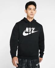 Nike Men's Graphic Pullover Hoodie Sportswear Club Fleece Activewear Sweatshirt