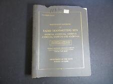 1955 NAVY MAINTENANCE HANDBOOK FOR RADIO TRANSMITTING SETS