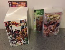 young justice 1 to 55 & 150 issues of teen titans run lot complete series