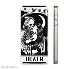 GRIM REAPER TAROT CARD PHONE CASE FITS IPHONE 4 4S 5 5S 5C 6 6S 7 8 SE PLUS X