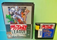 Mutant League Football Game - Sega Genesis Box Rare Tested Works great !