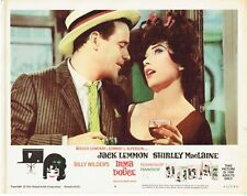 Wilder's IRMA LA DOUCE, orig 1963 mint Lobby Card, SHIRLEY MacLAINE, JACK LEMMON