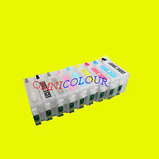 9 compatible refillable cartridge with pigment + ARC chips for epson SC-P600