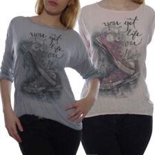 Markenlose Normalgröße Damenblusen, - Tops & -Shirts aus Mischgewebe