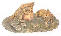 Cold Cast Cat Figurine Sculpture English Design for Valentino