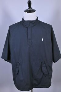 Polo Ralph Lauren Golf SS Wind Rain Vented Pullover Black Men's XL