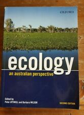 Ecology An Australian Perspective By Attiwill & Wilson ~ Second Edition