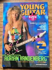 VANDENBERG Young Guitar Extra Japan Guitar Tab w/CD Whitesnake Adrian Vandenberg