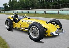 1958 Frank Kurtis H5000 INDY Roadster Vintage Classic Race Car Photo (CA-0585)