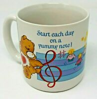 1984 Care Bears Stoneware Coffee Cup Mug American Greetings Corp