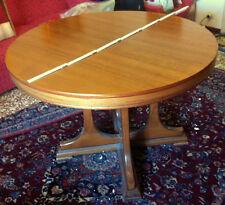 Tavolo rotondo allungabile in legno + 6 sedie