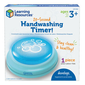 LEARNING RESOURCES 4361-2 (2 EA) 20-SECOND HANDWASHING TIMER