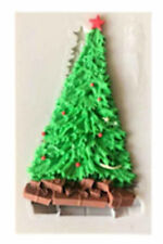 Christmas Tree with Presents Silicone Mold - Fondant, Chocolate, Crafts
