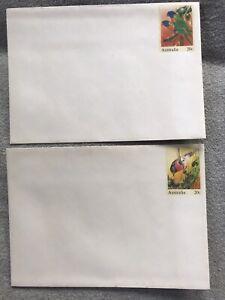 Australien. 17 Ganzsachen Briefumschläge.
