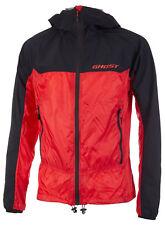 GHOST RIDGE LINE Multi Jacket, Black/Red - Vaude, Fahrrad- Windjacke, leicht, S