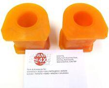 FITS: MITSUBISHI L200 KB4 2006 sur ** Avant Poly Anti Roll Bar Bush Kit **