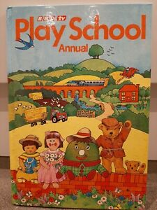 BBC TV Play School Annual 1983 by Grandreams Very Good Condition