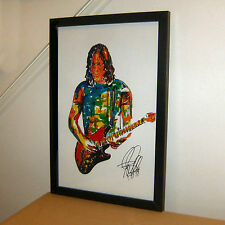 David Gilmour, Pink Floyd, Lead Guitar Player, Singer, Rock, 11x17 PRINT w/COA