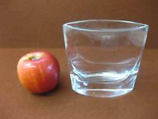 Krosno Poland ~ Handmade Small Clear Glass Vase / Bud Vase ~ LSA International