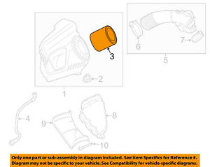 AUDI OEM 12-16 A6 Quattro Engine-Air Filter Element 4G0133843