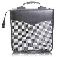 New 520 Disc CD DVD VCD Album DJ Holder Case Storage Bag Wallet Black Fashion