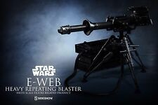 Sideshow Star Wars 1/6 Scale E-Web Heavy Repeating Blaster Hoth Snowtrooper ESB