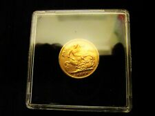 More details for 1900 queen victoria veiled head gold half sovereign in coin case