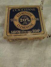 L'Occitane Savon d'Bain Clementine. Shea. Extra gentle. Rare. 100g 002