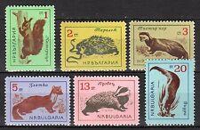 Bulgaria - 1963 Animals - Mi. 1377-82 MNH