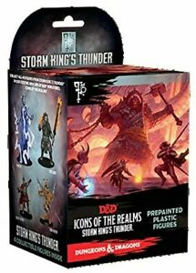 1x Storm King's Thunder Booster Pack - Sealed: D&D Icons of the Realms Miniature