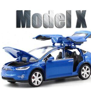 1:32 Tesla MODEL X 90 SUV Alloy Car Model Diecasts Vehicles Toy Cars Kid Toys