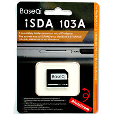 BASEQI Aluminum MicroSD Card Adapter/Reader103A For Macbook Air 13''/Macbook Pro